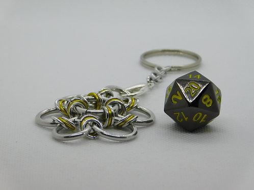 Gunmetal with Yellow