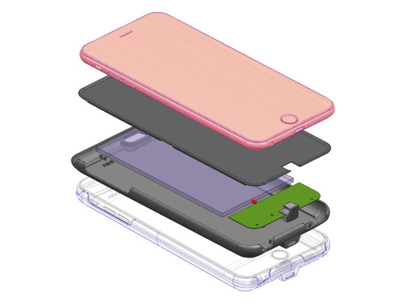 Iphone爆炸圖