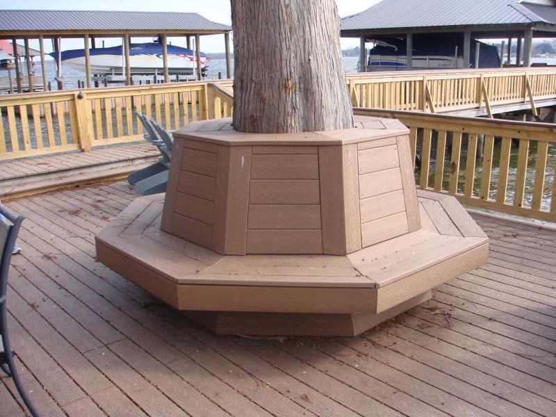 Trex Board Bench