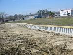 RETAINING WALL BUILT IN GONZALES