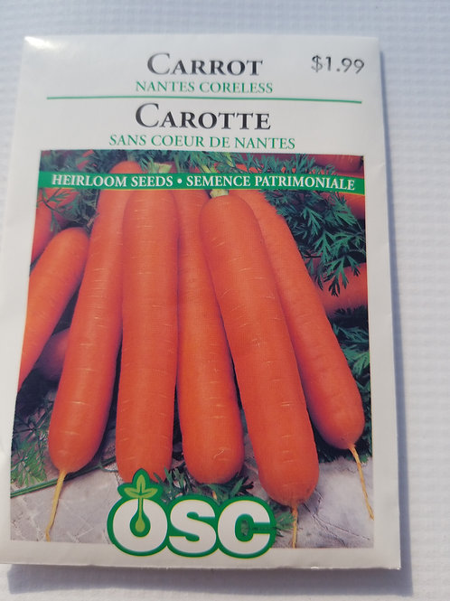 Carrot, Nantes Coreless