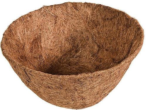 "Liner, 16"" Cocoa for Hanging Basket"