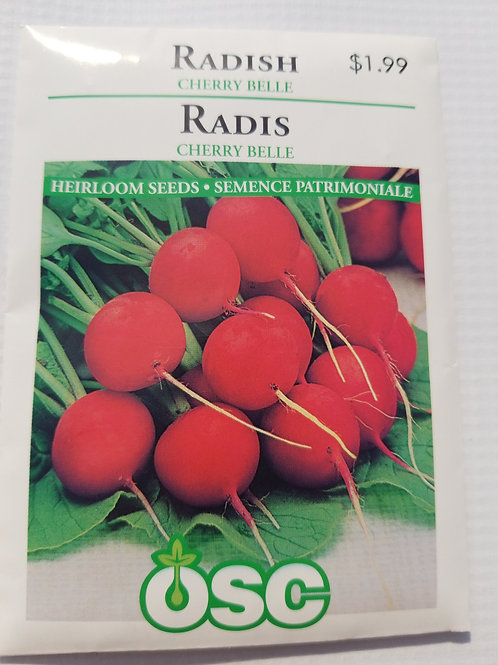 Radish, Cherry Belle