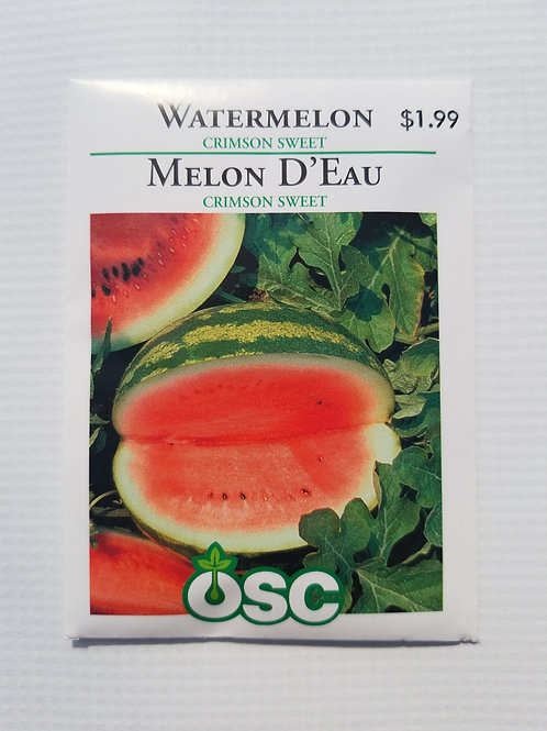 Watermelon, Crimson Sweet