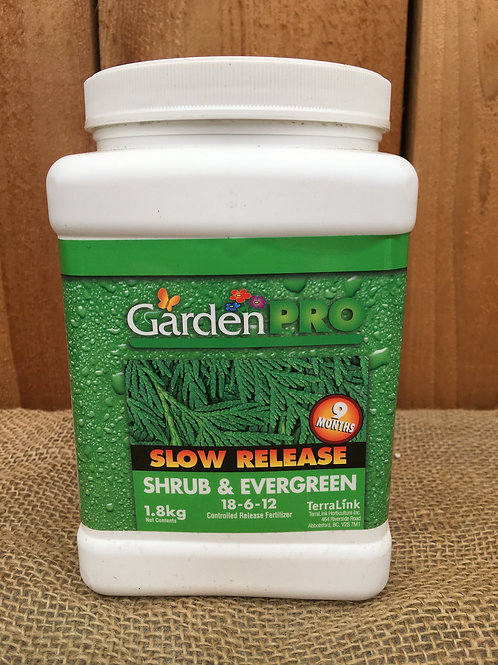 Fertilizer, Shrub & Evergreen Slow Release