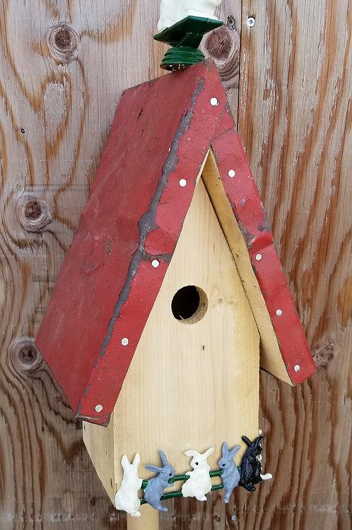 Birdhouse, Bunny Rabbits