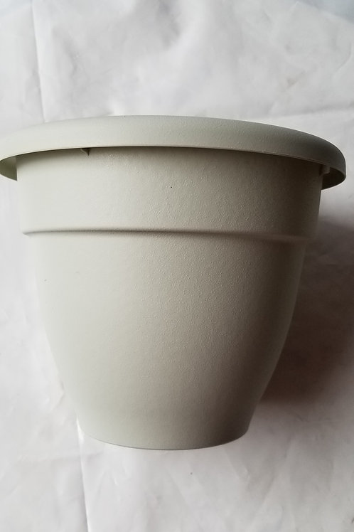 "Planter, 8"" Caribbean White"