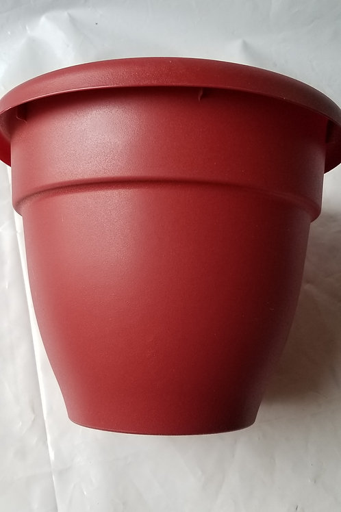 "Planter, 12"" Caribbean Red"