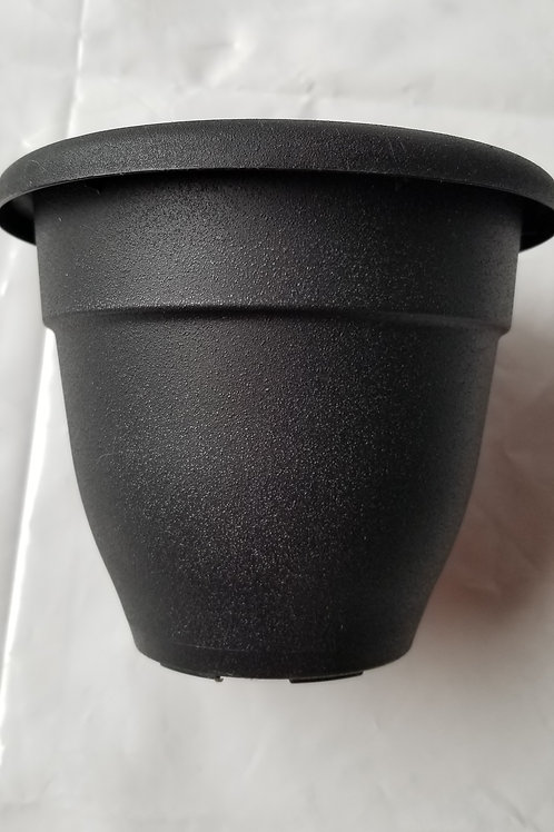 "Planter, 6"" Caribbean Black"