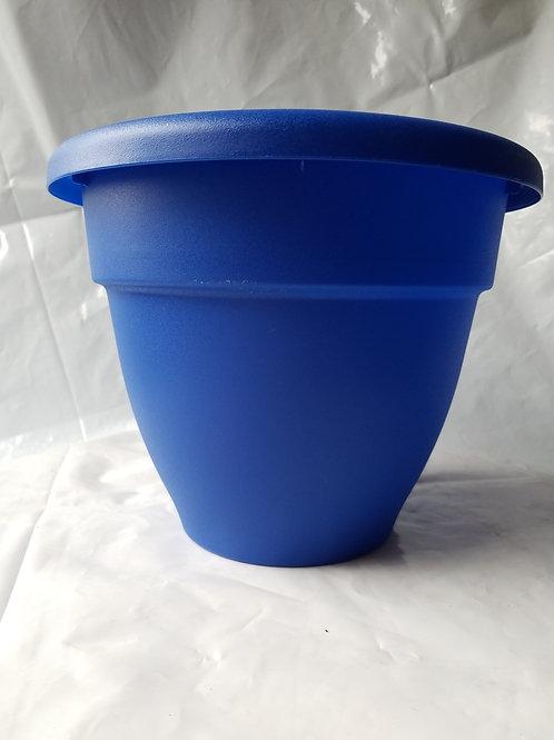 "Planter, 10"" Caribbean Blue"