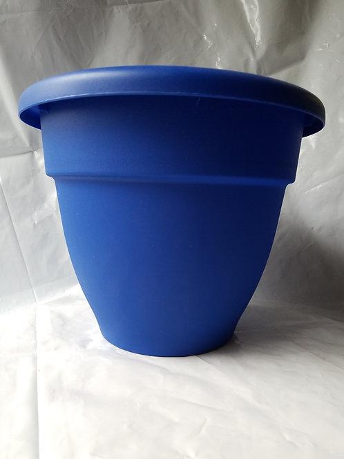 "Planter, 12"" Caribbean Blue"