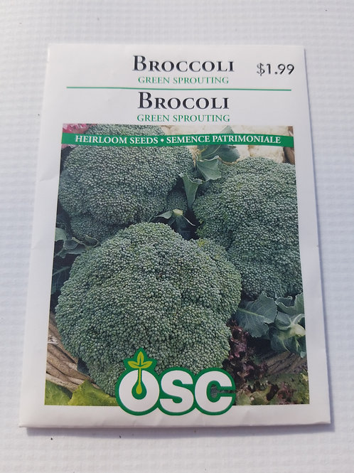 Broccoli, Green Sprouting