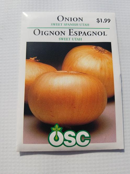 Onion, Sweet Spanish Utah