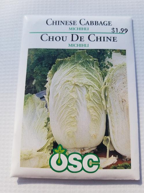 Cabbage, Chinese Michihli