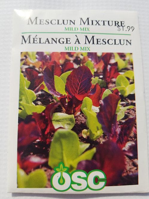 Lettuce, Mesclun Mixture Mild Mix