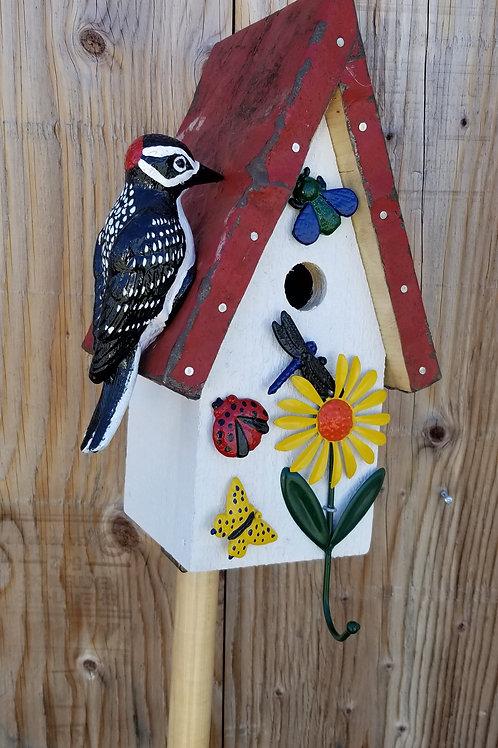 Birdhouse, Woodpecker