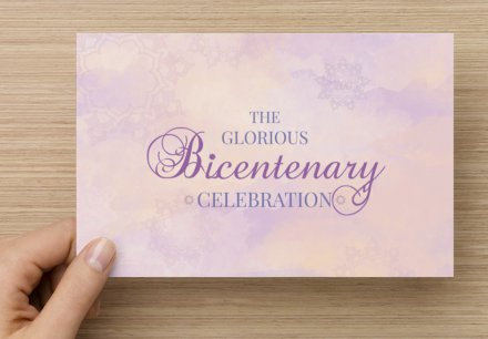 Dream - Flat Invitation Card