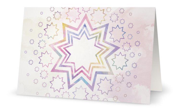 Stars Glitter Card