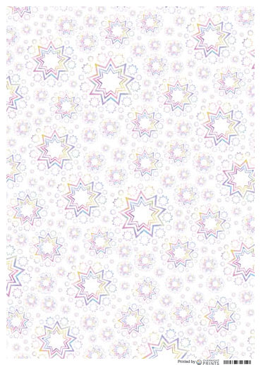Starlets Wrapping Paper (3 PACK)
