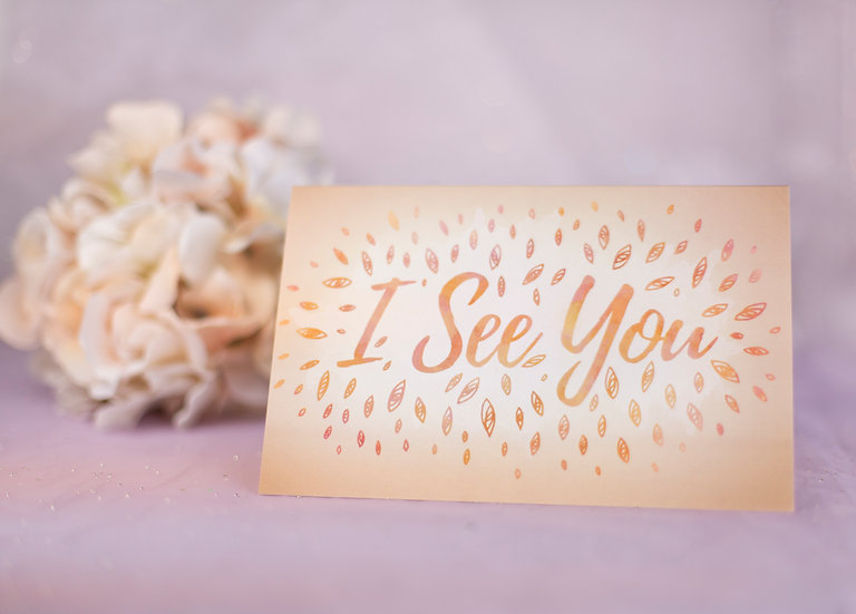 I See You - Support Card
