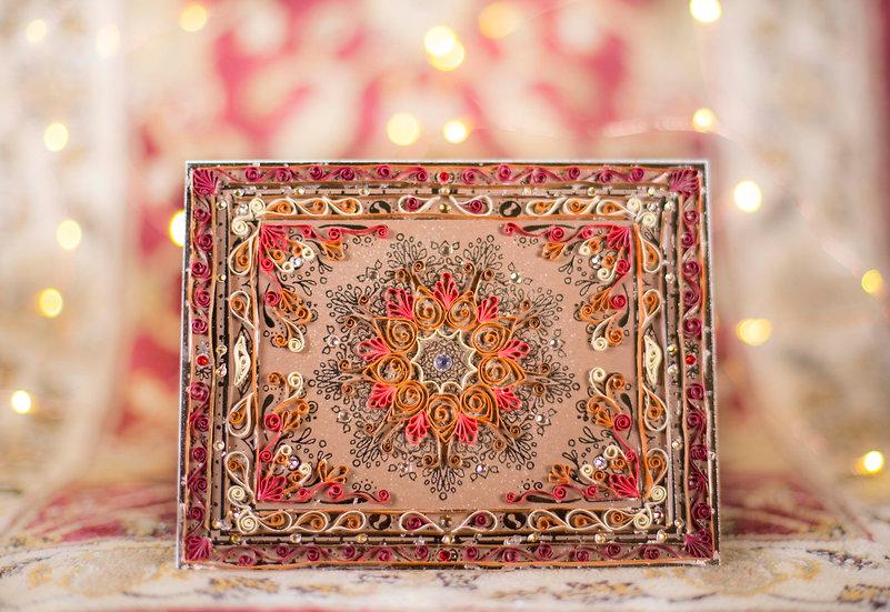 Tapestry - 5D Swarovski® Quilled Card