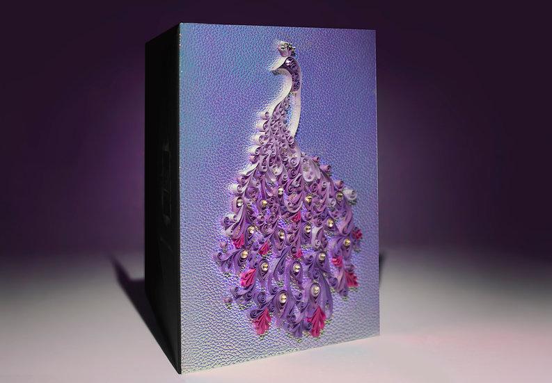 Magnolia Dream - 5D Swarovski® Quilled Card