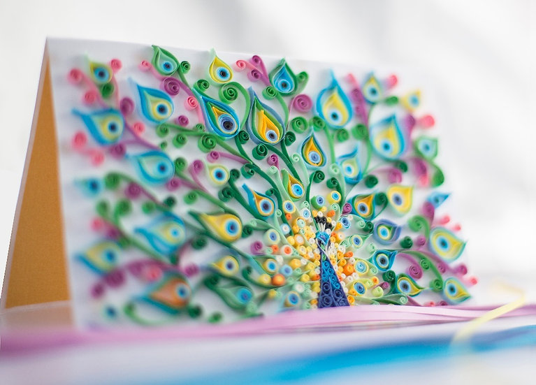 Glory - 5D Swarovski® Quilled Card