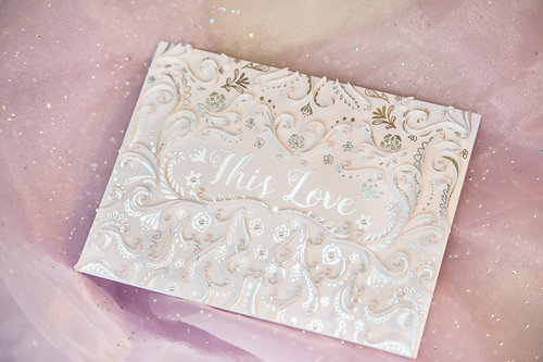 This Love - 5D Crystal Quilled Card