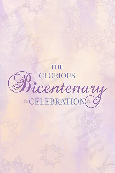 Dawn Bicentenary Poster