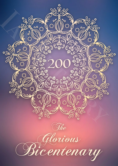 Crown Bicentenary Poster