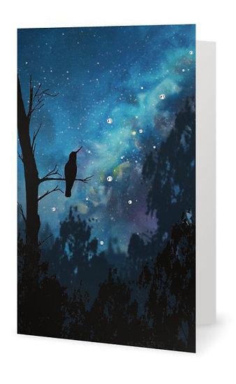 Longing - Crystal Glitter Card