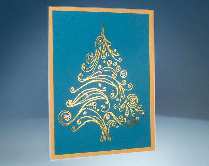Tree of Union- 5D Swarovski® Foil Card