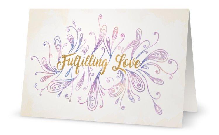 Fulfilling Love Card
