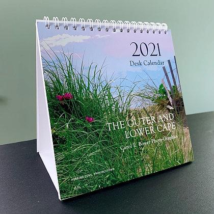 2021 desk calendar front