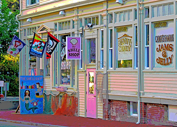 Shell Shop in Provincetown