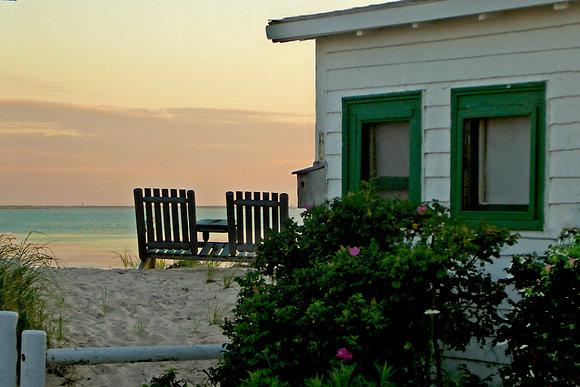 Beach sunset, North Truro, Mass.