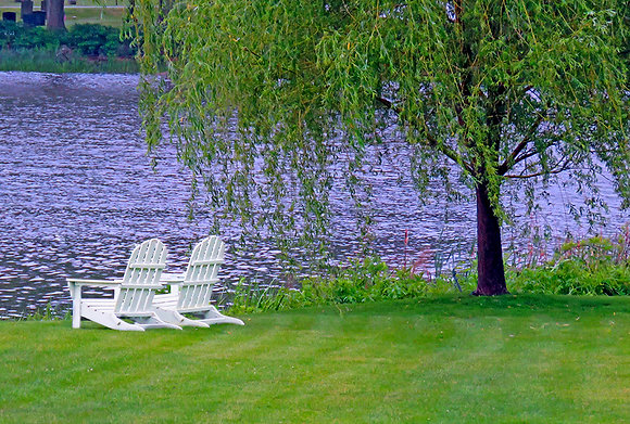 ADIRONDACK CHAIRS ON THE COVE