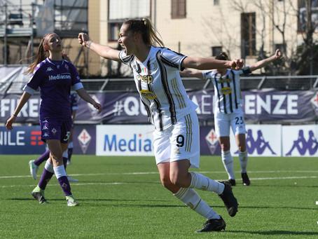 Ci pensa Staskova: J-Women vittoriosa sulla Fiorentina