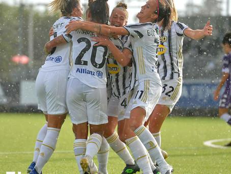 Juventus Women: le bianconere asfaltano la Fiorentina con quattro gol.