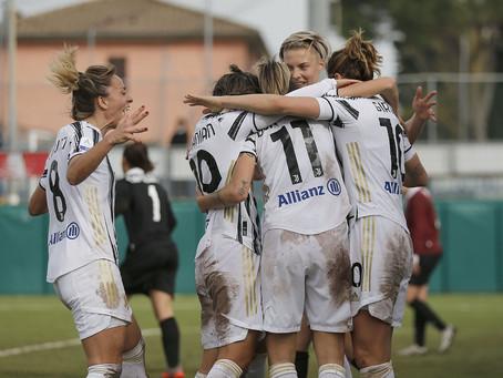 Juventus Women, 3-0 all'Empoli: Girelli sempre più decisiva