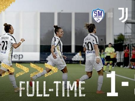 Chi le ferma più? Juventus Women, 14 su 14 e 3-1 alla San Marino Academy