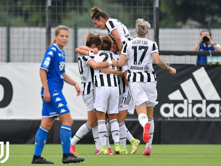 Se saltelli segna la Girelli: la Juventus Women fatica ma batte l'Empoli 1-0