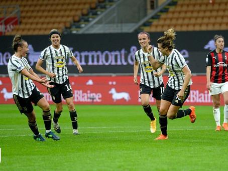Juventus Women: è sempre Girelli show, Milan sconfitto 1-0 e primo posto solitario in classifica.