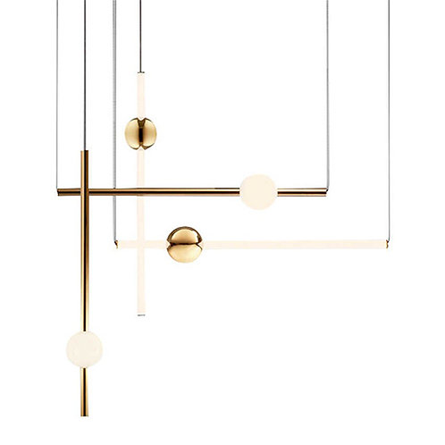REPLICA ORION GOLD PENDANT | SET OF 4