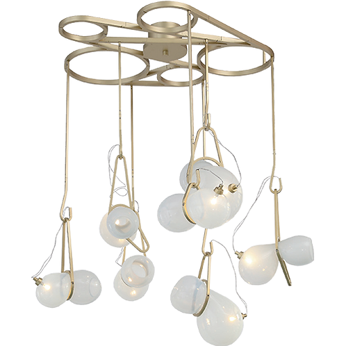 REPLICA CATCH CHANDELIER | 7 LIGHTS CIRCULAR