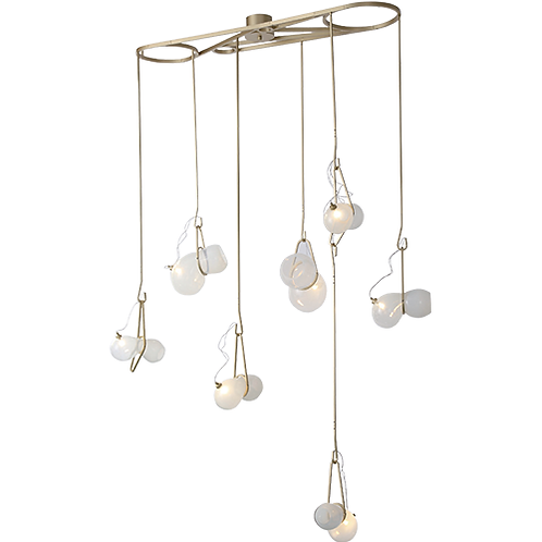 REPLICA CATCH CHANDELIER | 7 LIGHTS HORIZONTAL