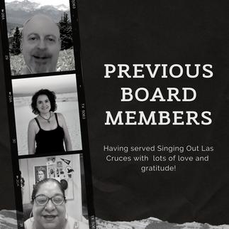Previous Board Members
