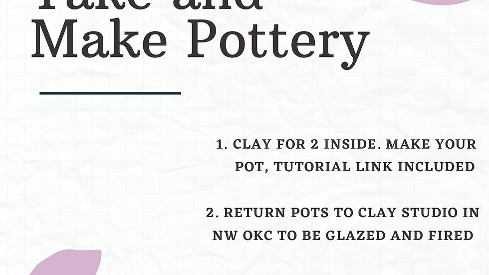 Take and Make Pottery