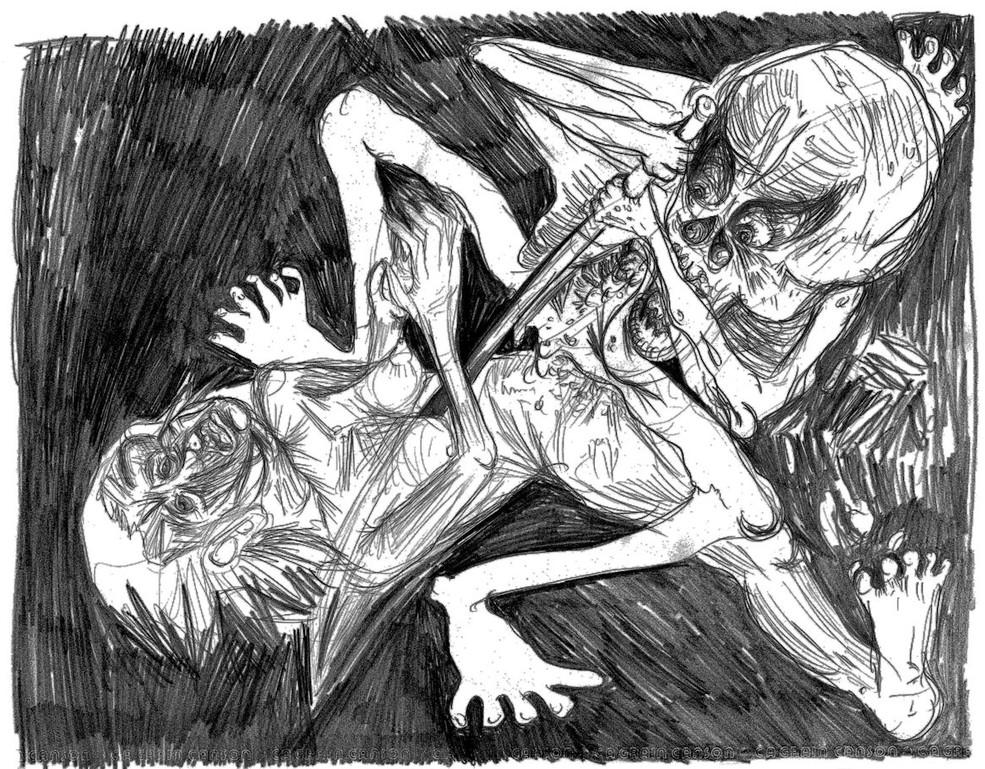 o_triunfo_da_morte_1_-_desenho_a_lápis_-