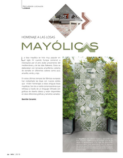 Mayólicas